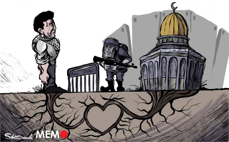 Al-Aqsa will remain in the Palestinians' hearts