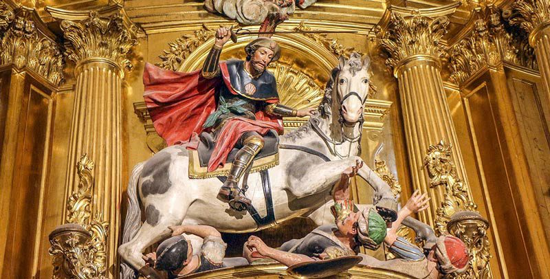 Santiago Matamoros in the Cathedral of Burgos